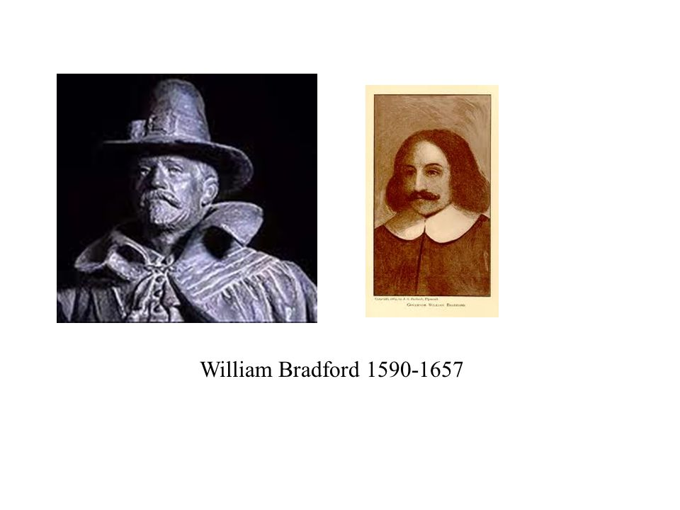 William Bradford 1590-1657
