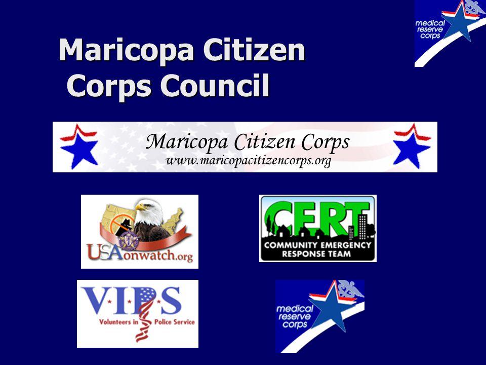 Maricopa Citizen Corps Council