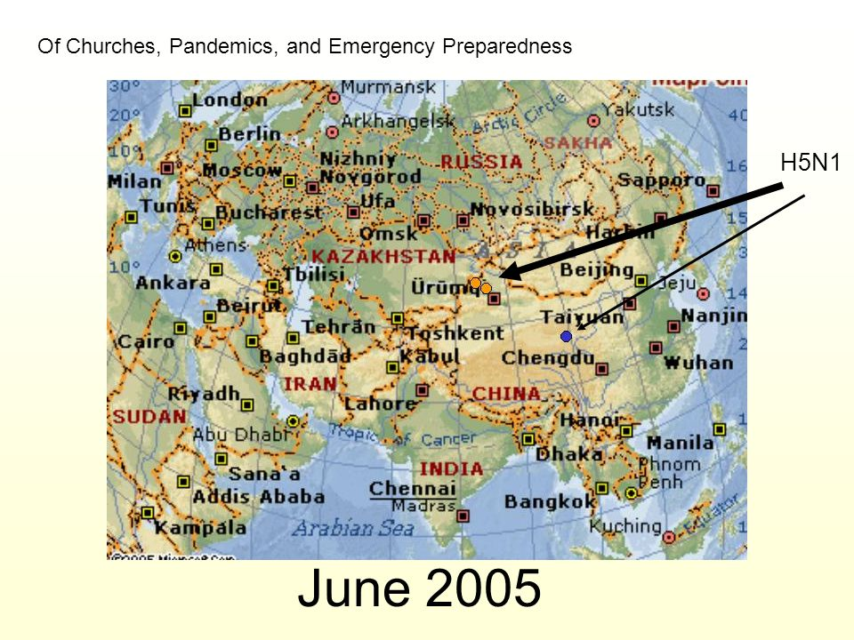 June 2005 H5N1 Of Churches, Pandemics, and Emergency Preparedness