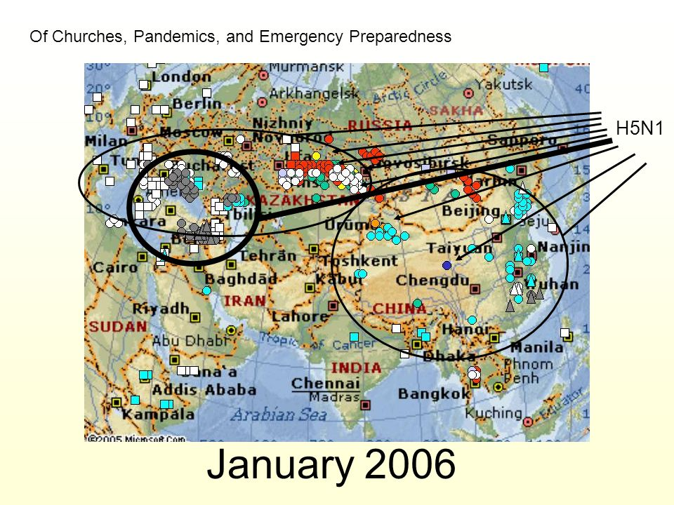 January 2006 H5N1 Of Churches, Pandemics, and Emergency Preparedness