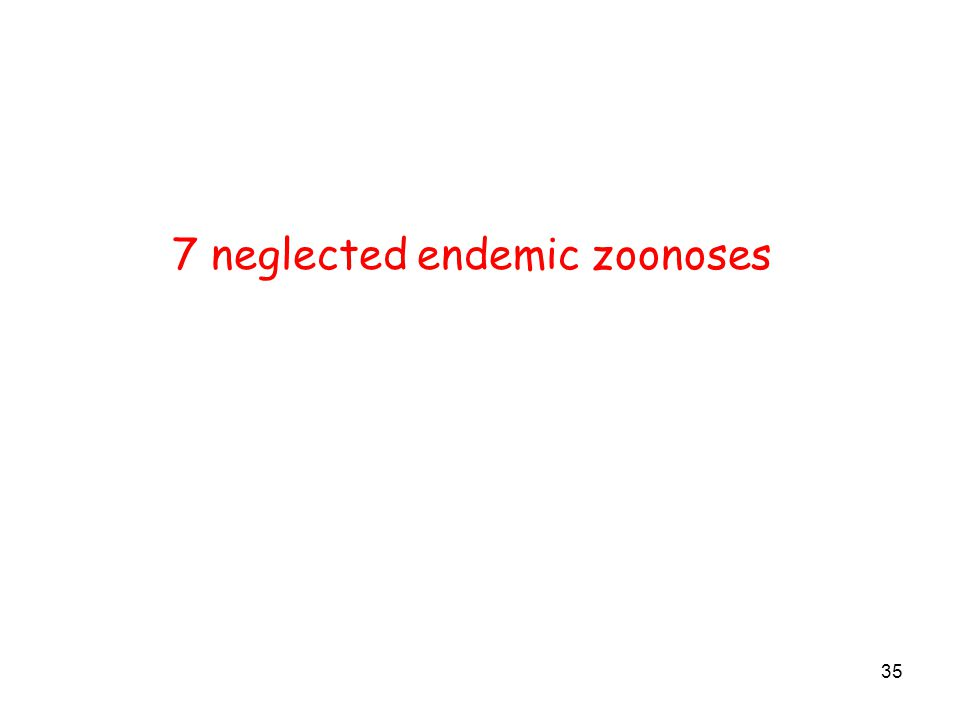 35 7 neglected endemic zoonoses