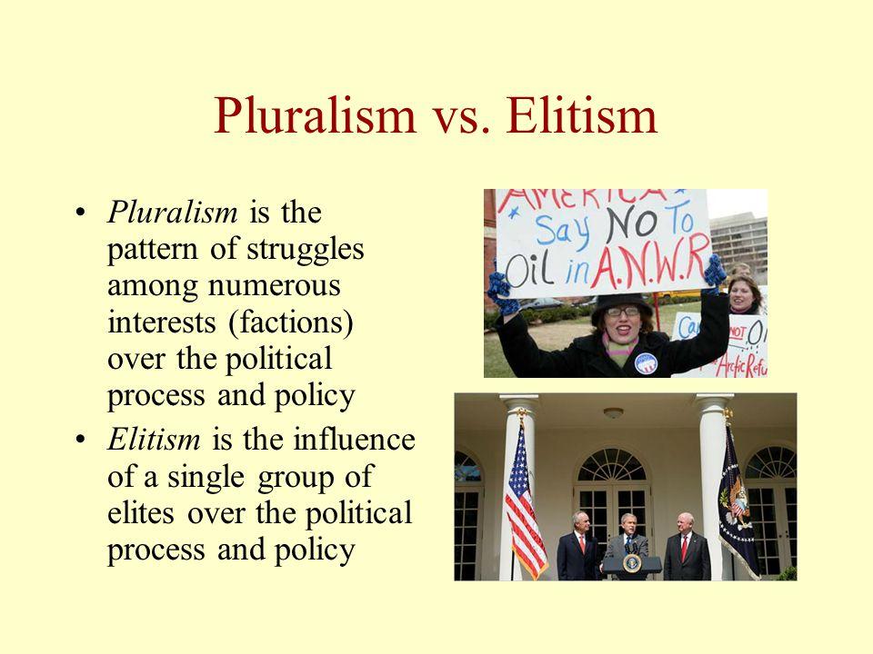 Pluralism vs.