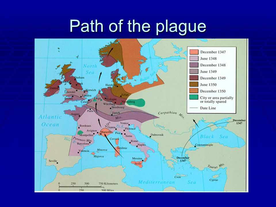 Path of the plague