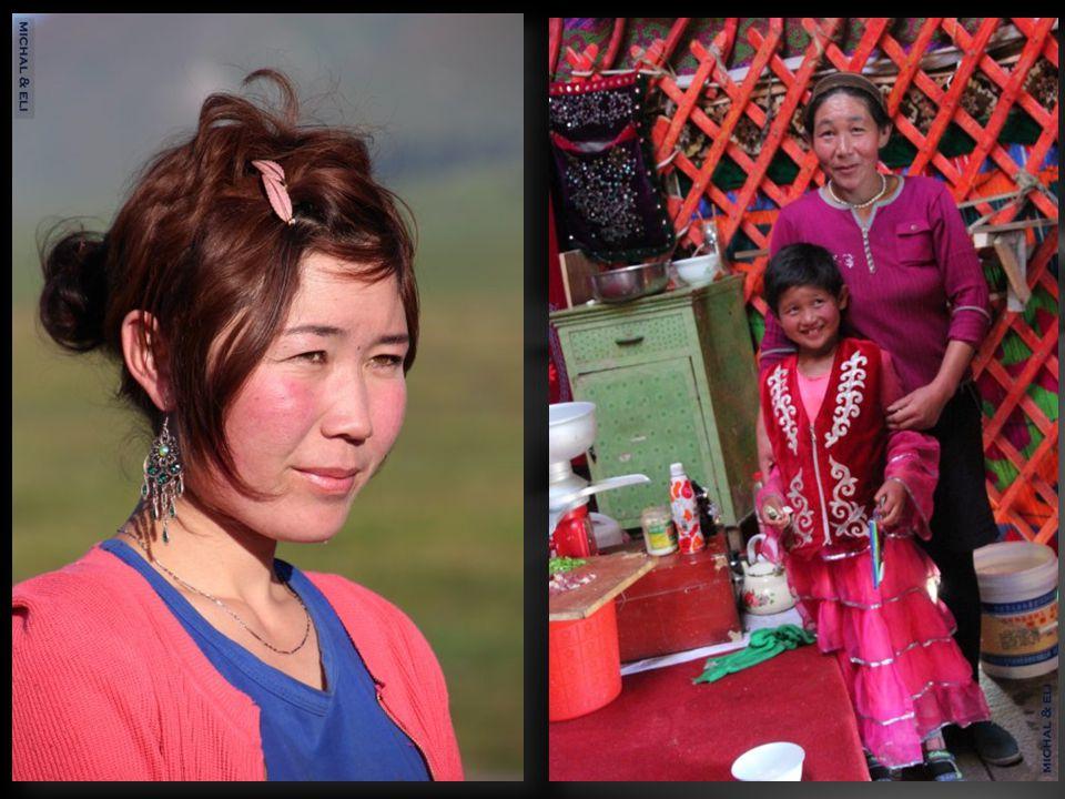 יורטה ( אוהל למגורים ) קאזחית Kazakh yurta