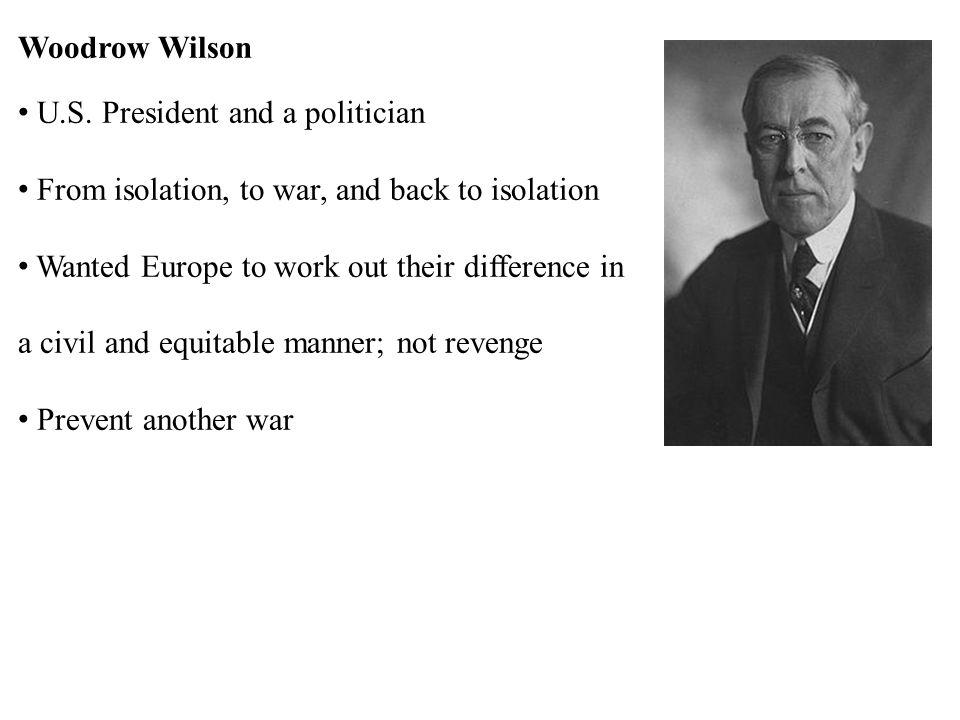 Woodrow Wilson U.S.