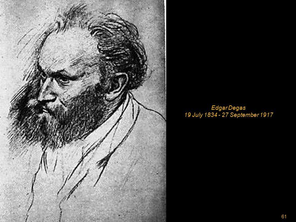 60 Claud Monet 14 November 1840 - 5 December 1926
