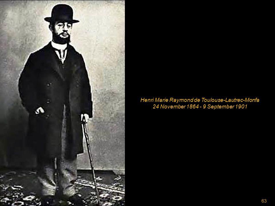 62 Vincent Willem van Gogh 30 March 1853 - 29 July 1890