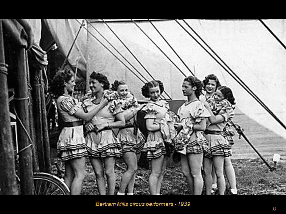 5 Bertram Mills circus poster 1939