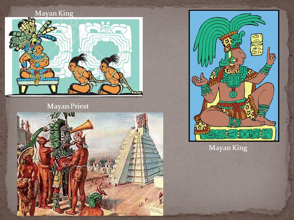 Mayan King Mayan Priest