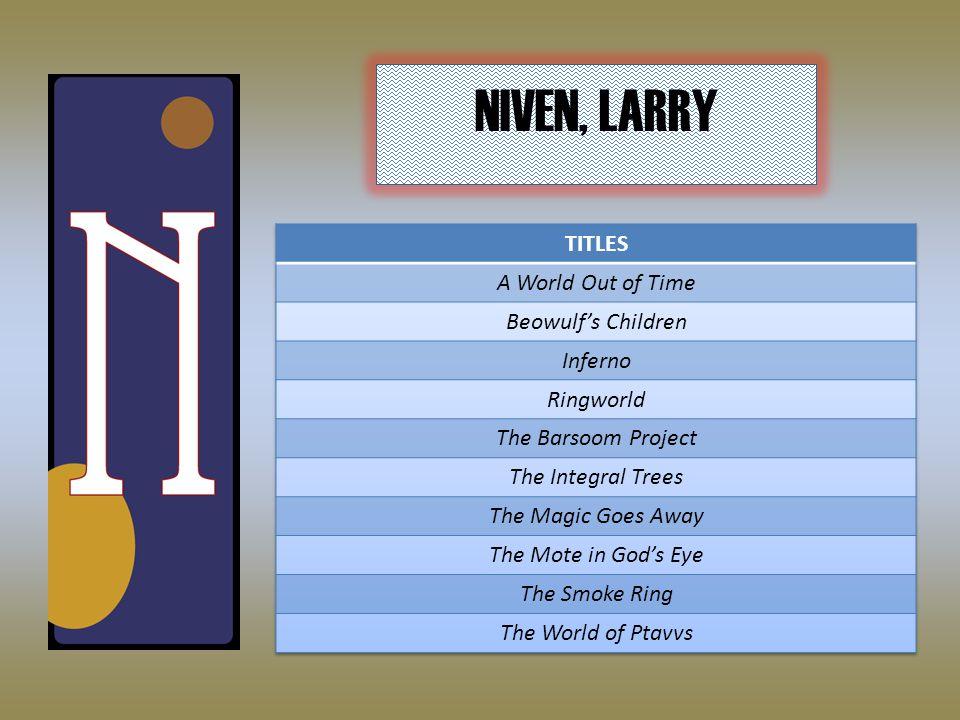 NIVEN, LARRY
