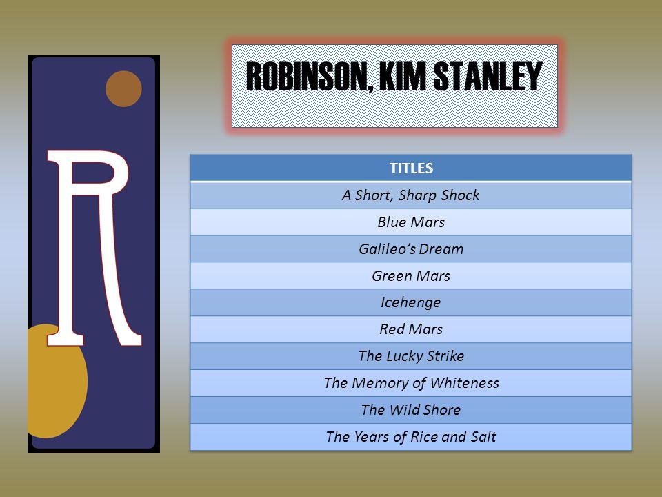 ROBINSON, KIM STANLEY