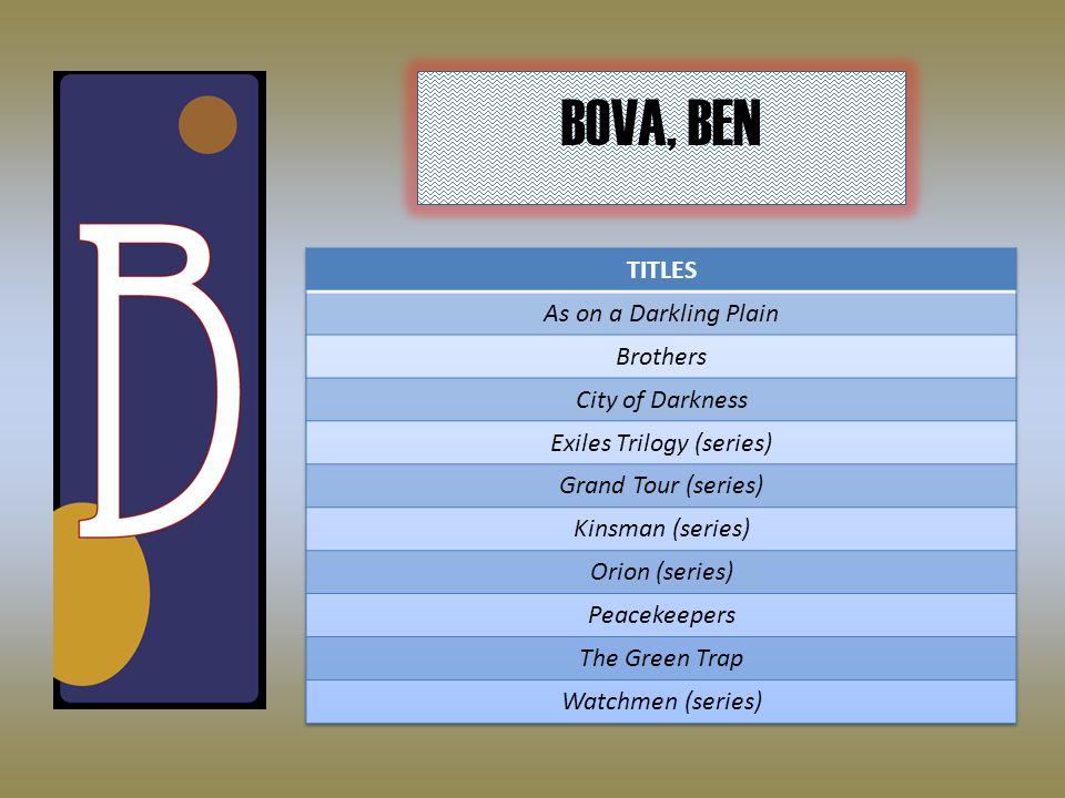 BOVA, BEN
