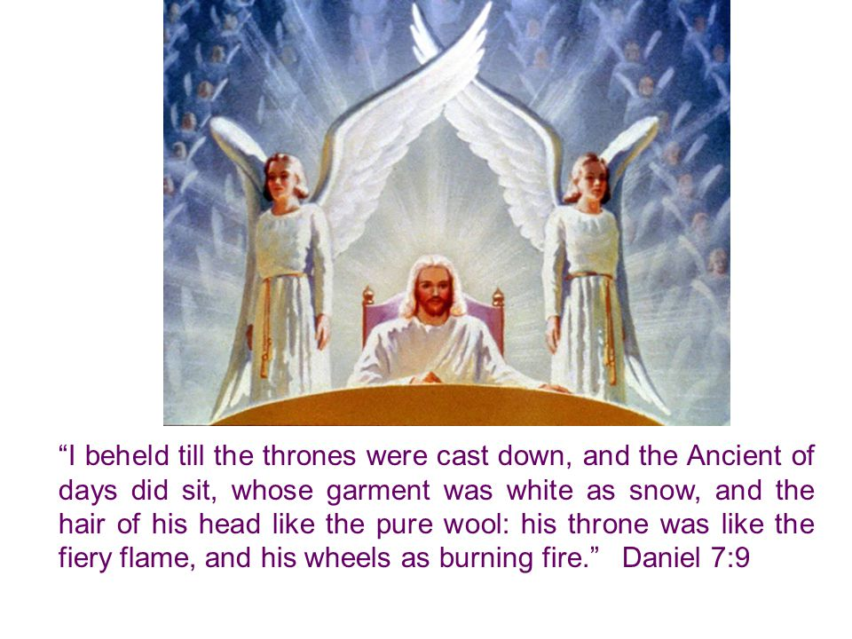 The Holy Spirit represents worldly kingdoms under the symbol of fierce beasts of prey; but Christ is the Lamb of God, which taketh away the sin of the world. John 1:29.