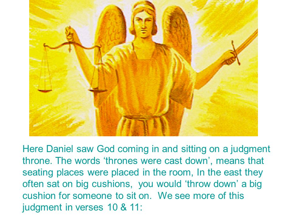 Daniel 7:13, 14 The coming of Christ here described is not his second coming to the earth.