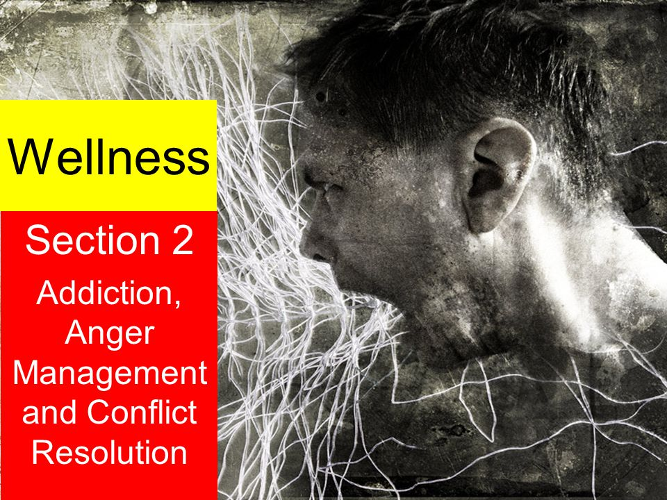 Wellness Section 2 Addiction, Anger Management and Conflict Resolution