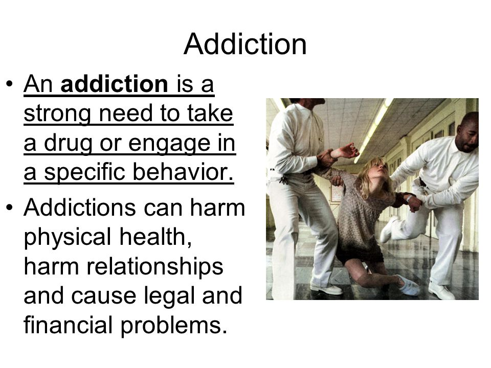 Signs that a Person has an Addiction People with addictions will participate in unhealthy activities instead of dealing with their feelings of anxiety, depression, boredom or loneliness.
