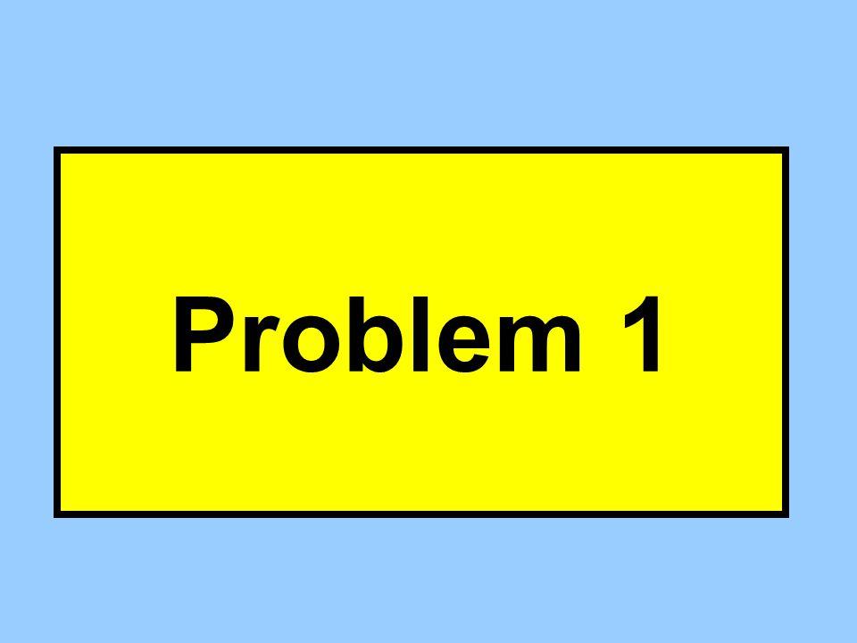 Problem 1