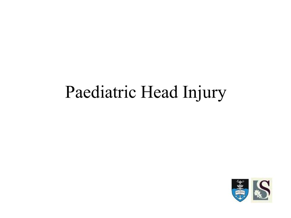 Paediatric Head Injury