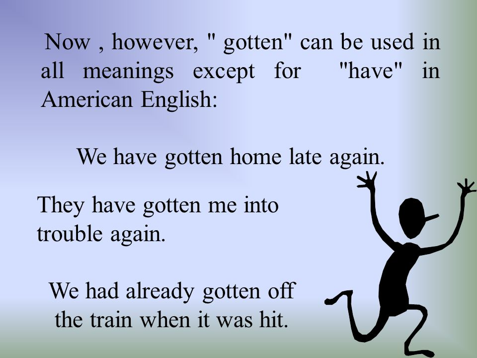 b) British English does not use the definite article in the phrase in future in the meaning from now on , while American does: British: In future, I d like you to pay more attention to detail.