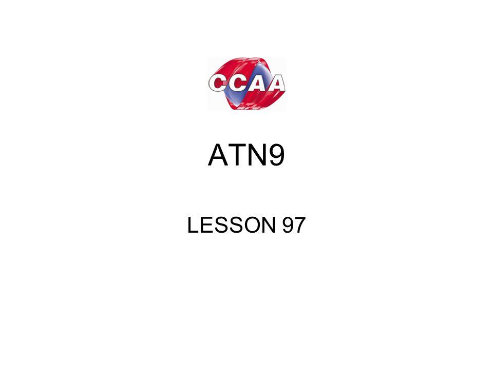 ATN9 LESSON 97