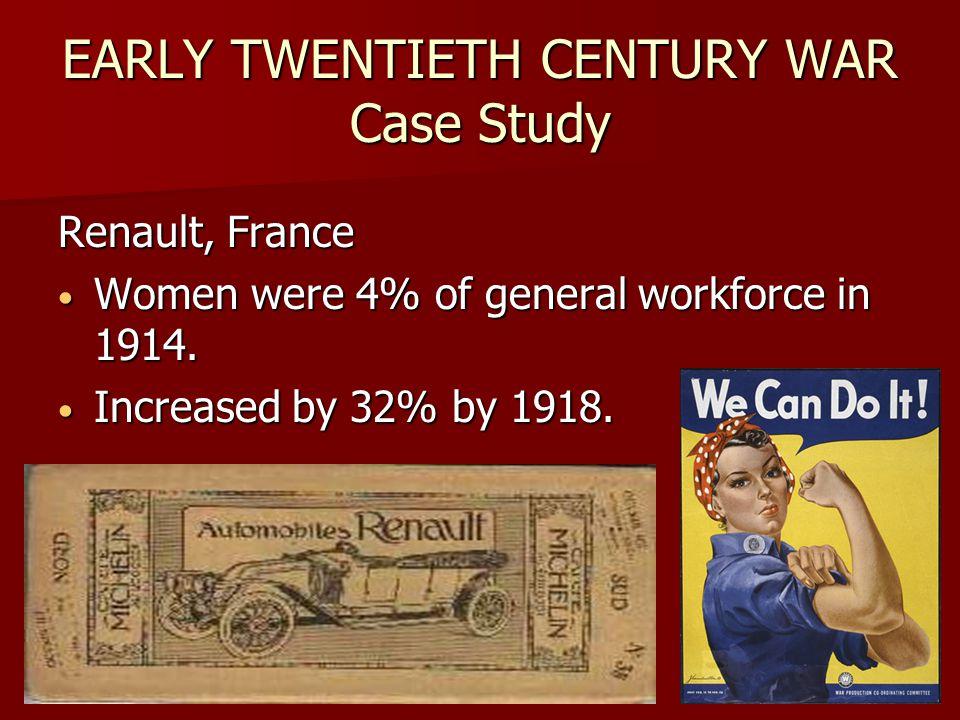 Early Twentieth Century War Case Study Renault, France FT-17 Tanks