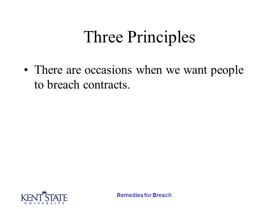 Remedies for Breach OG Quality of Hand AB O P Three indifference curves between other goods and quality of the hand.