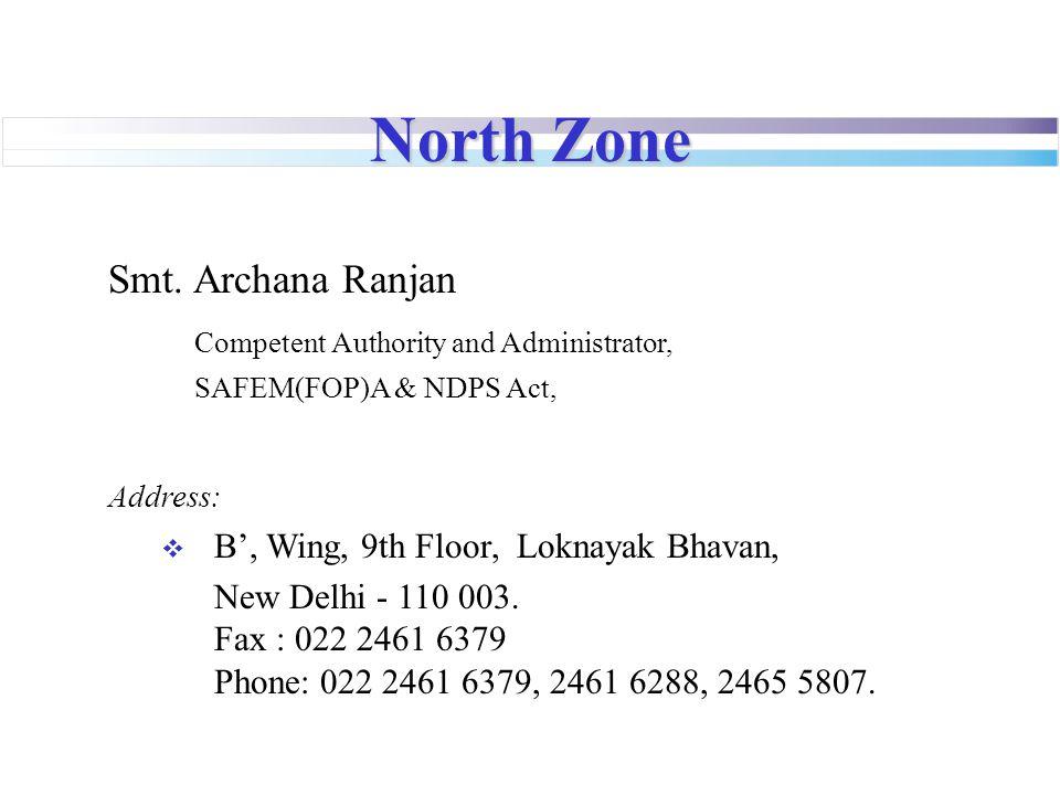 North Zone Smt.