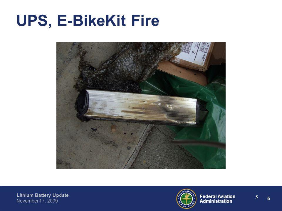 26 Federal Aviation Administration Lithium Battery Update November 17, 2009 26 FEDEX, Ruyan Inhaler