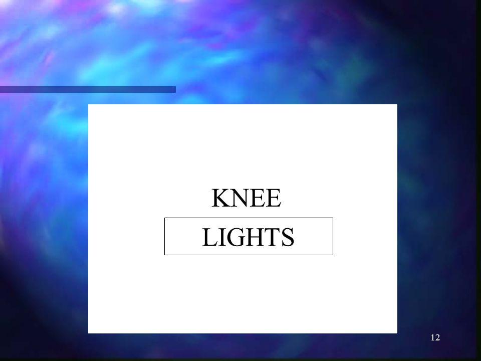 12 KNEE LIGHTS