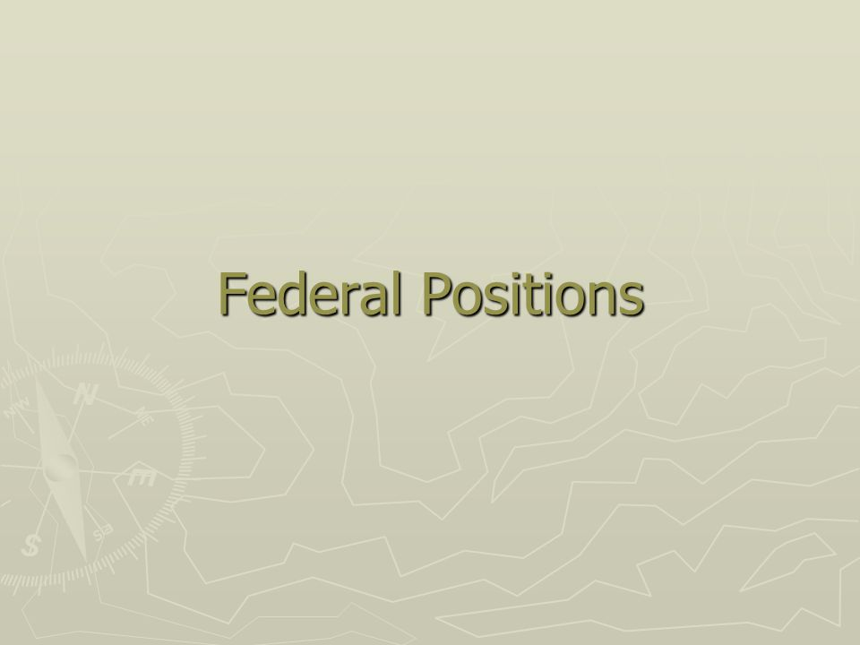 Federal Facts (2007) ► The 1.6 million federal employees  15 cabinet-level agencies  20 large, independent agencies (>1,000 employees)  Over 80 percent of government jobs are located outside of the Washington, D.C., metropolitan area, ► Baltimore ► Philadelphia ► Atlanta ► San Diego ► New York City)