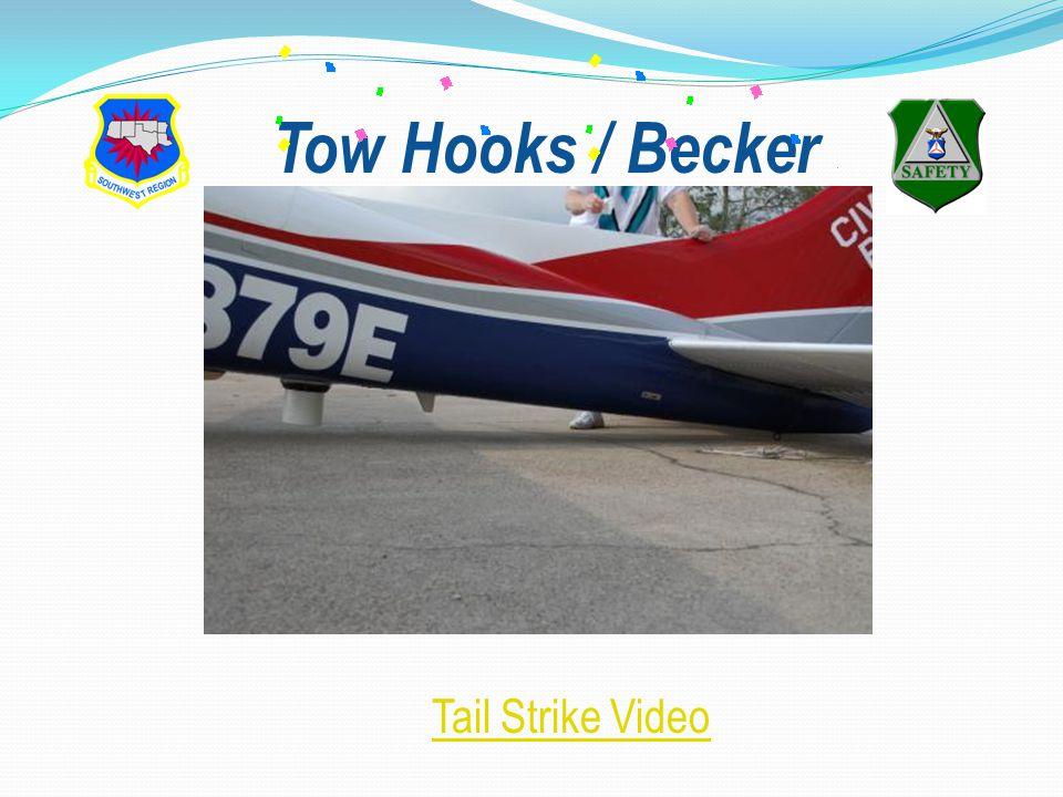 Tow Hooks / Becker Tail Strike Video