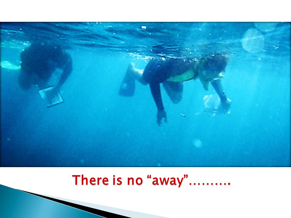 "There is no ""away""………."