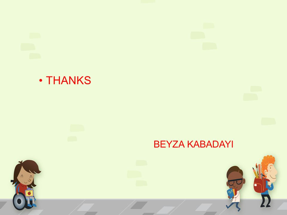 THANKS BEYZA KABADAYI
