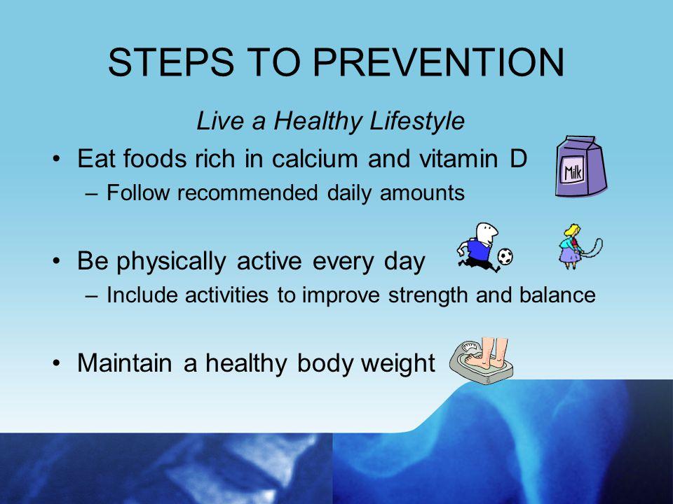 STEPS TO PREVENTION