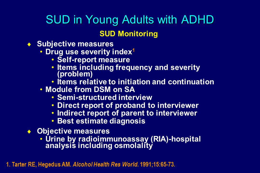 Continued Use of Preferred Drug: To Change Mood OR=2.4 *p=0.121 *p=0.121 controlling for age, SES and Conduct Disorder (Wilens et al., APA 2004)