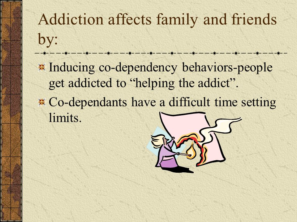 Treatment and Recovery: Recognize the addiction Many times the addict cannot see the truth .