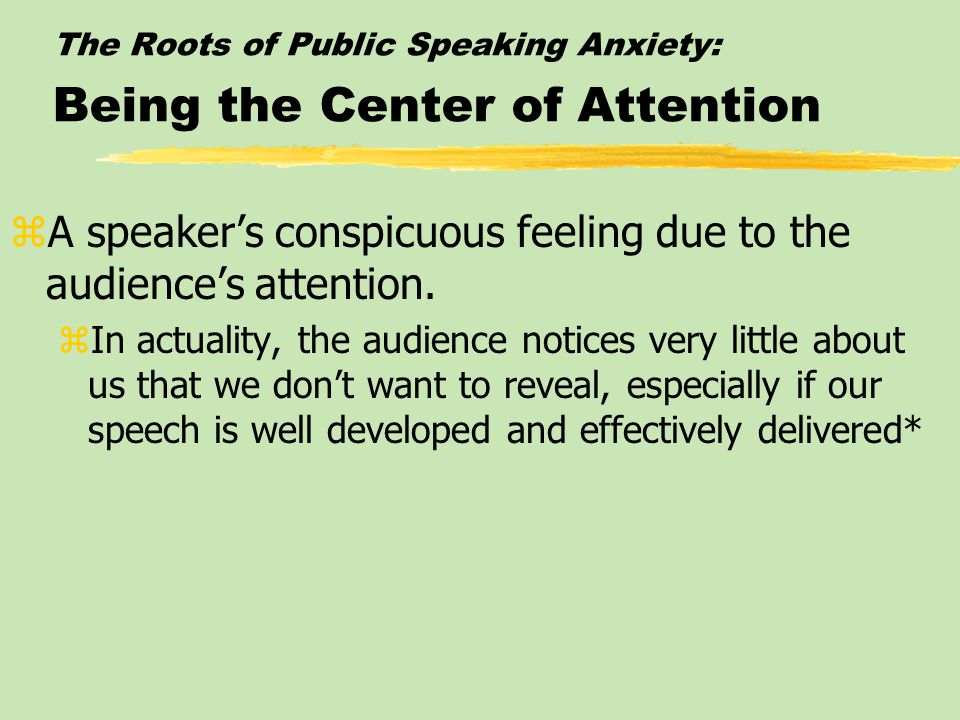 Giving it a Try: DOING A FIRST SPEECH IN CLASS zSelect a Topic zAnalyze the Audience zState the Speech Purpose zTo inform, persuade, entertain, etc.