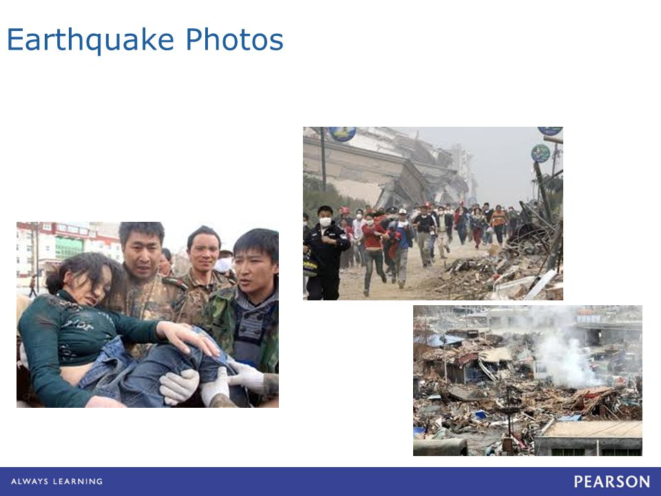 Earthquake Photos