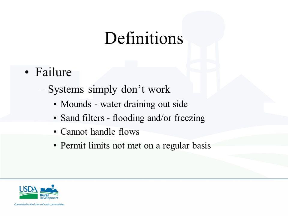 Why Failure/Problems.