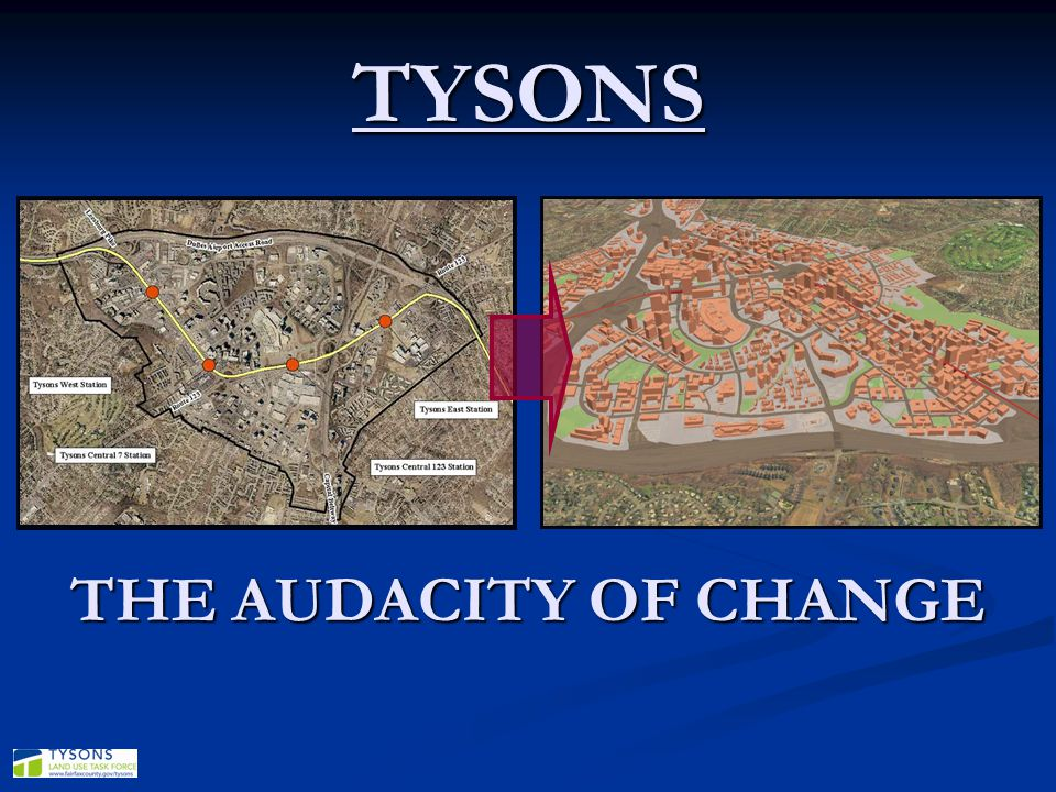 WHAT EXACTLY IS TYSONS TODAY.(PART I) 46 million sq.