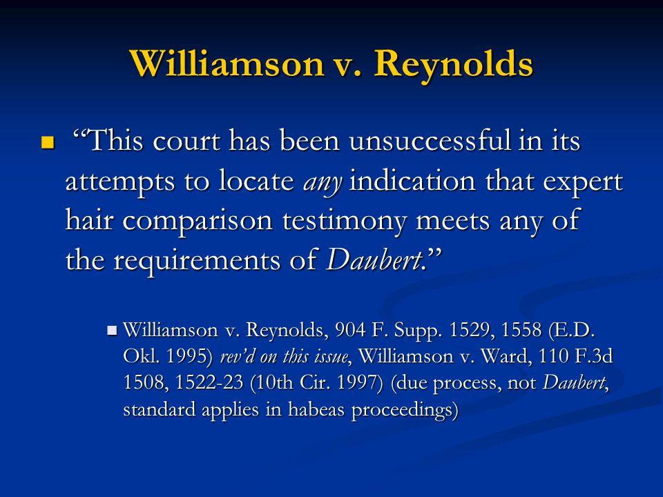 Williamson v.