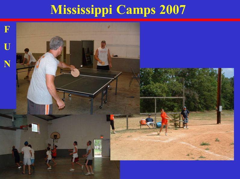 Mississippi Camps 2007 FUNFUN