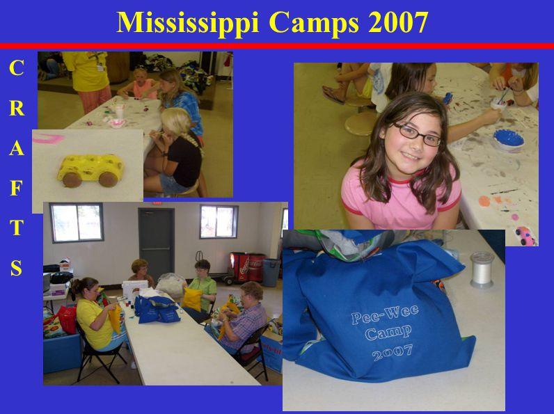 Mississippi Camps 2007 CRAFTSCRAFTS
