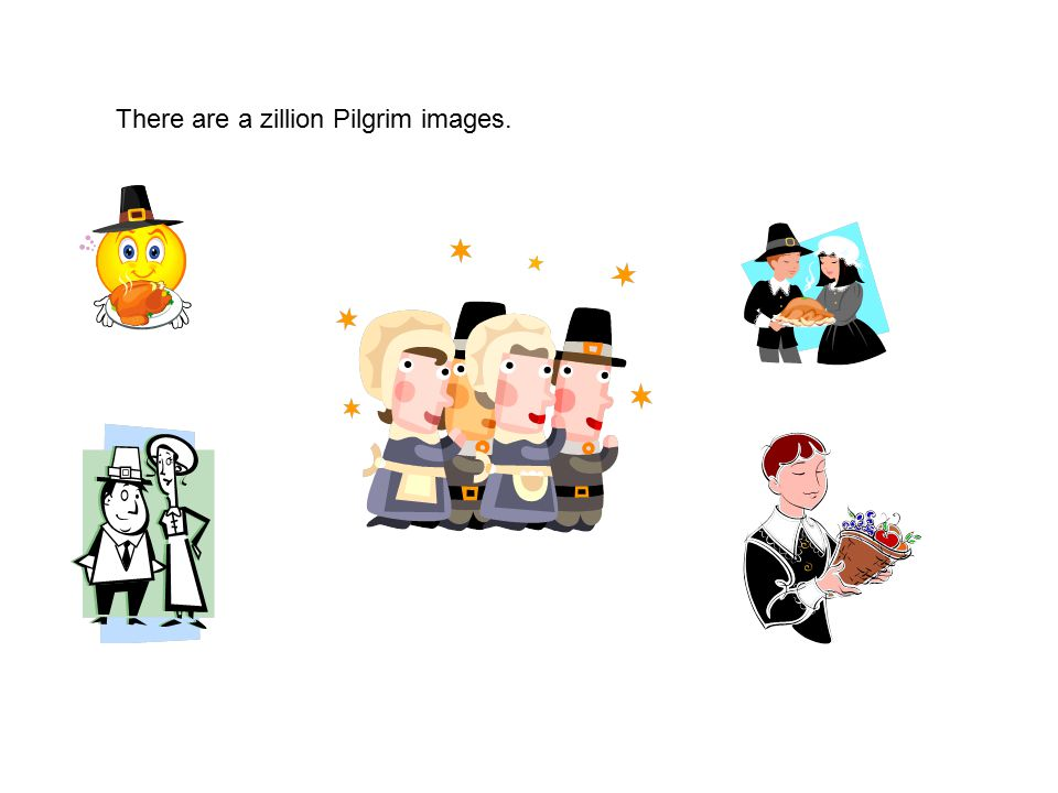 There are a zillion Pilgrim images.