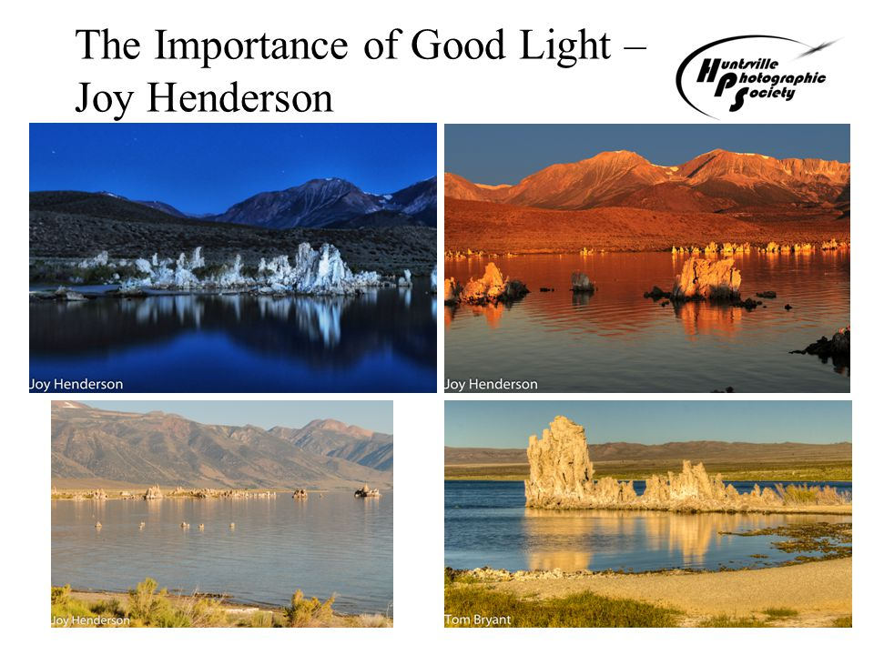 The Importance of Good Light – Joy Henderson