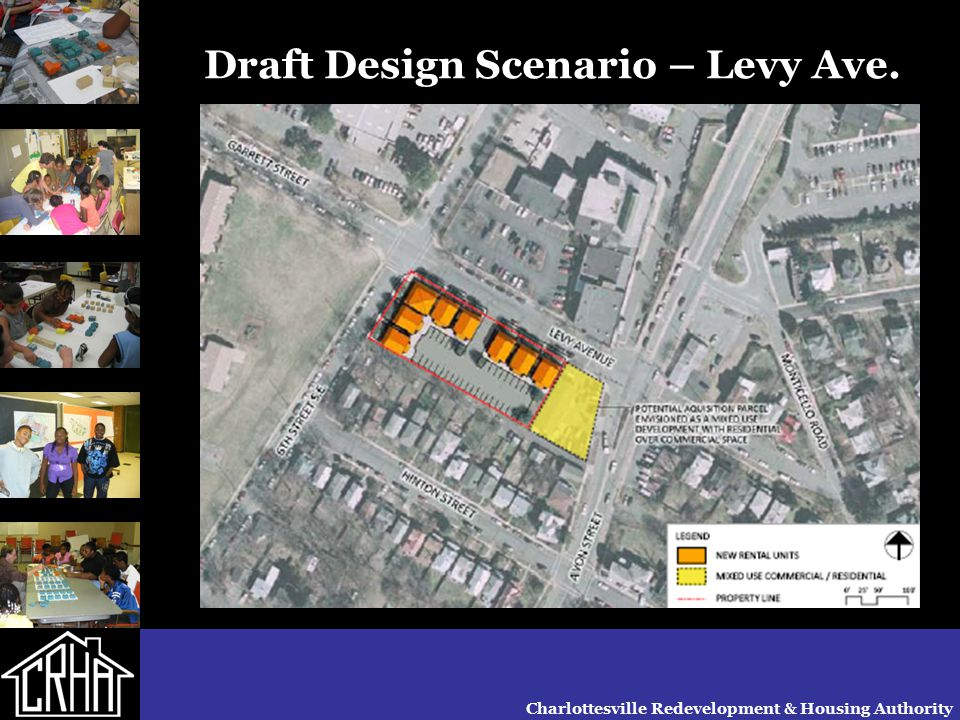 Charlottesville Redevelopment & Housing Authority Draft Design Scenario – Westhaven