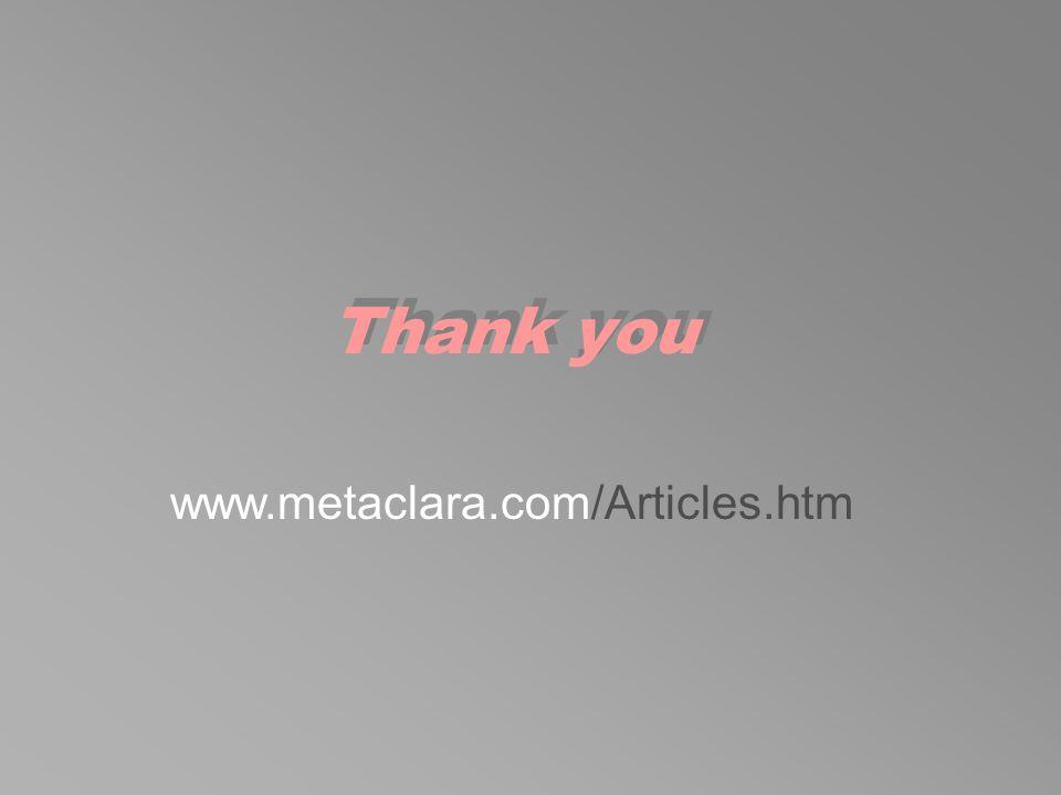www.metaclara.com/Articles.htm Thank you