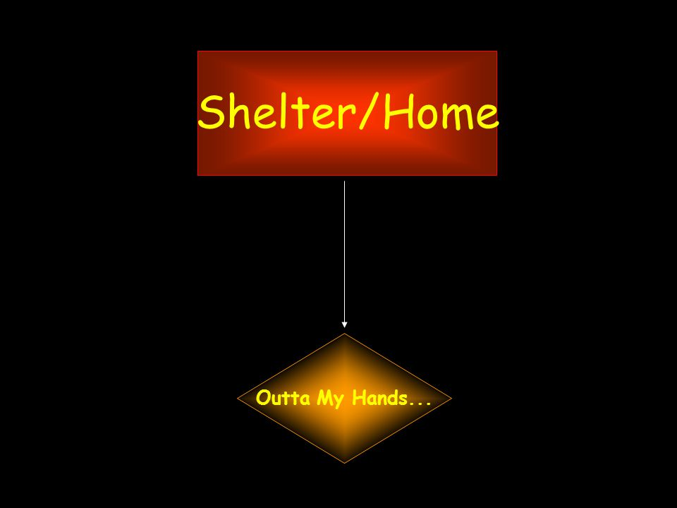 Shelter/Home Outta My Hands...