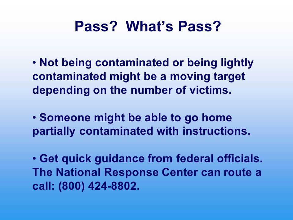 Pass. What's Pass.