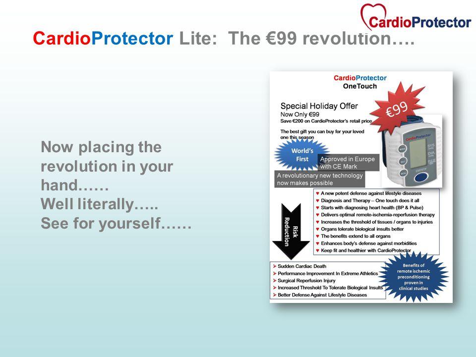 CardioProtector Lite: The €99 revolution….